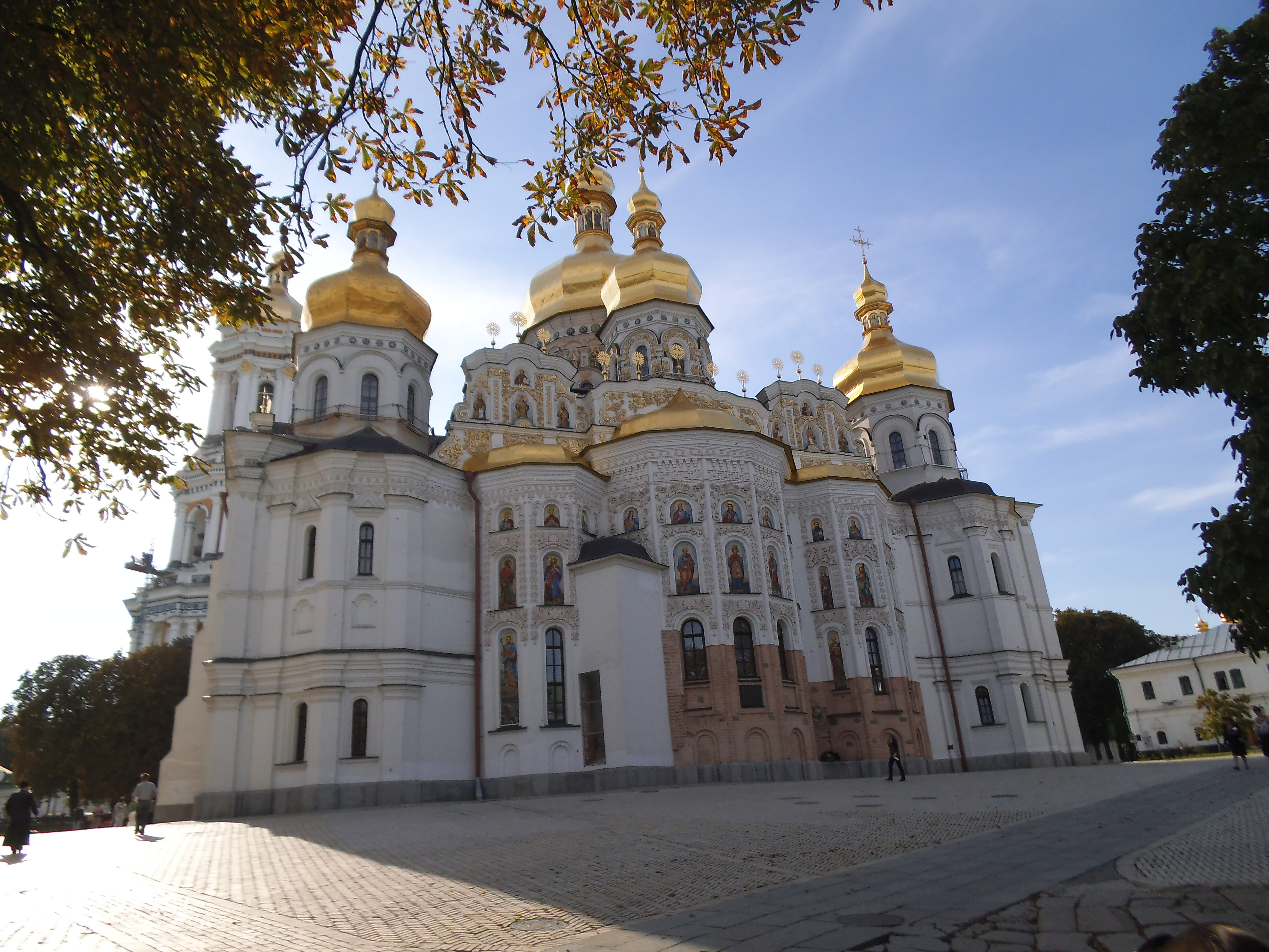 One of the faous churches of the Pecherska Lavra in Kiev